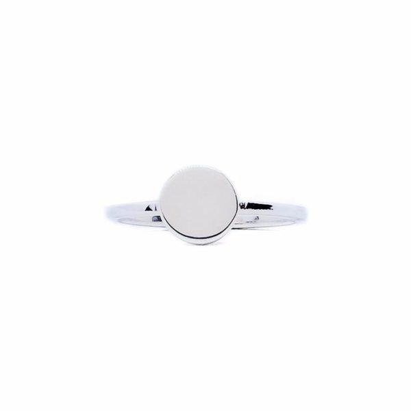 Karma sterling silver ring handmade by Fomo bali