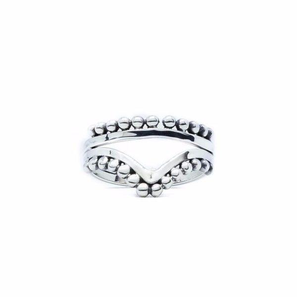 Lovina sterling silver ring handmade by Fomo bali
