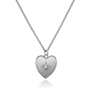 Love star sterling silver necklace by Fomo bali